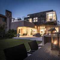 北欧风格90平米舒适空间简洁客厅效果图