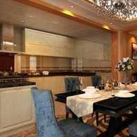 美式内部餐厅装修效果图