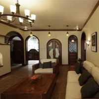 90平米三室一厅现代装修效果图