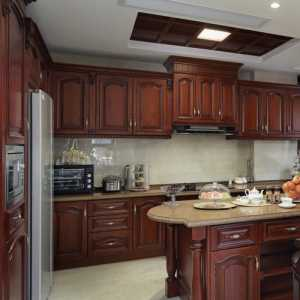 欧式厨房家装修效果图大全
