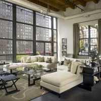 现代化俯瞰客厅装修效果图