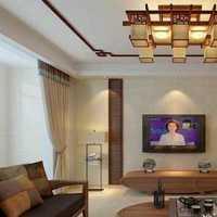 现代粉白色布景别墅起居室装修效果图