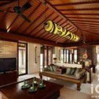 三居客厅茶几客厅沙发装修效果图