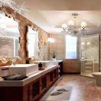 卫生间涂鸦墙装修效果图