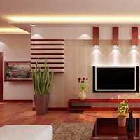 现代沙发背景墙茶几复式楼装修效果图
