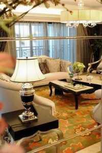 别墅客厅欧式沙发