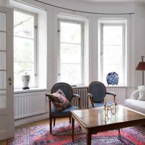 歐式家庭室內吊扇效果圖