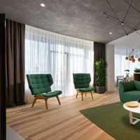 浅色系客厅沙发背景墙装修效果图
