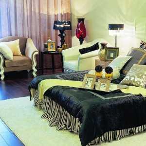 欧美风情奢华精装卧室