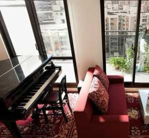 爵士瓷砖铺客厅