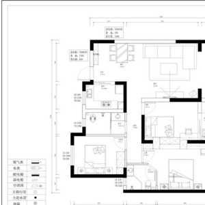 104平米二手房装修
