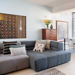 轻复古风一居室公寓 运用布置巧思划分格局
