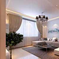二居小户型简欧客厅装修效果图