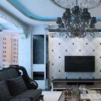 现代四居高雅型起居室装修效果图
