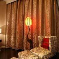 脚凳窗帘豪华型装修效果图