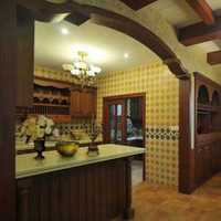 开发式厨房连餐厅装修效果图