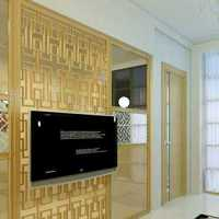 清新温和型欧式别墅起居室装修效果图