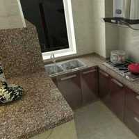 现代家具厨房现代二居装修效果图