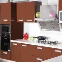 橱柜简约厨房三居室装修效果图