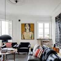 二居客厅两室两厅现代装修效果图
