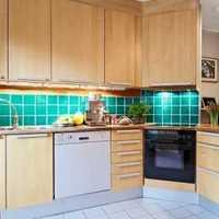 木器实色150平米以上欧式大气复式厨房精装房豪华型