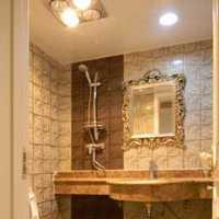 卫生间卫生间吊顶镜子装修效果图