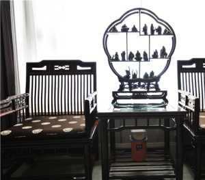 欧式客厅红木装修效果图大全