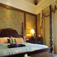 卧室卧室背景墙壁纸简欧装修效果图