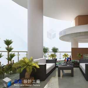 《薰衣草的天空》长沙湘江豪庭280平米地中海风格设计