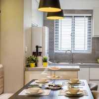 北京厨房装修五种分割方法