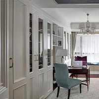 现代别墅华贵古典型书房装修效果图