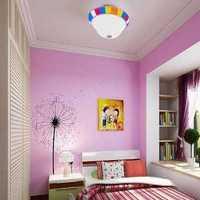 卧室现代时尚落地窗装修效果图