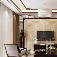 二居室暖色调餐桌灯具装修效果图