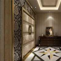 美式房间石膏板吊顶装修效果图