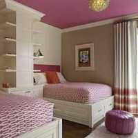 卧室美式双人二居装修效果图