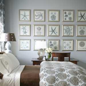 各种蓝色的卧室设计