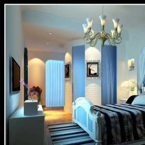 后现代美的卧室