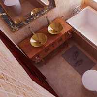 主卧卫生间和卧室隔断装修效果图
