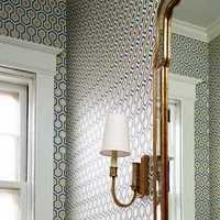 卫生间面盆卫浴洁具镜子装修效果图
