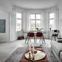 典雅秀丽型欧式别墅起居室装修效果图
