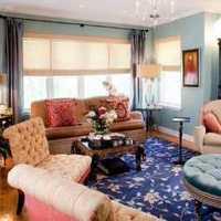 混搭客厅暖色调客厅纸装修效果图