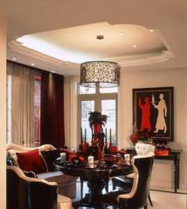 新古典風格公寓古典褐色富裕型地臺效果圖
