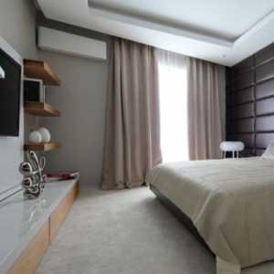 四居室中式内敛的卧室装修效果图大全2012图片