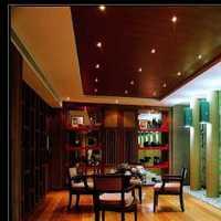 别墅另类现代简约门厅装修效果图