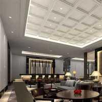 现代欧式高雅型别墅起居室装修效果图