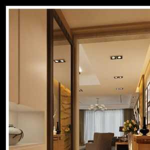 后现代客厅背景墙装修效果图
