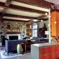 中式奢华温馨厨房别墅装修效果图