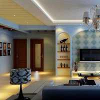 新古典风格样板间104平米三居装修案例