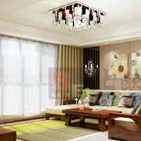 客厅灯饰大户型茶几装修效果图