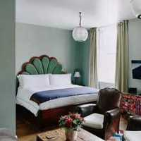 现代家居卧室实木家具装修效果图